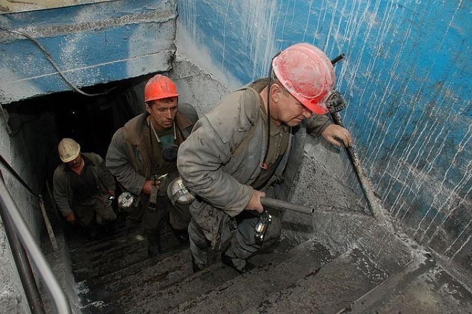 Накузбасской шахте случилось ЧП