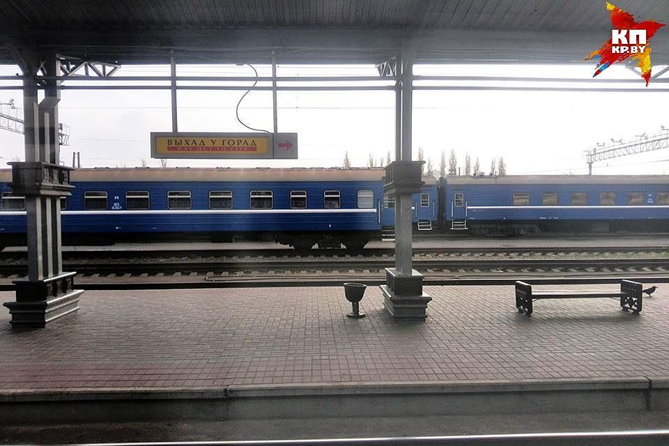 Под Молодечно поезд Вильнюс-Минск сбил пьяную женщину