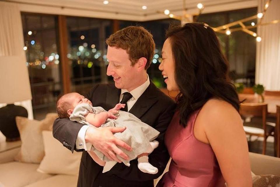 Уйдет вдекретный отпуск из-за рождения 2-го ребенка Цукерберг