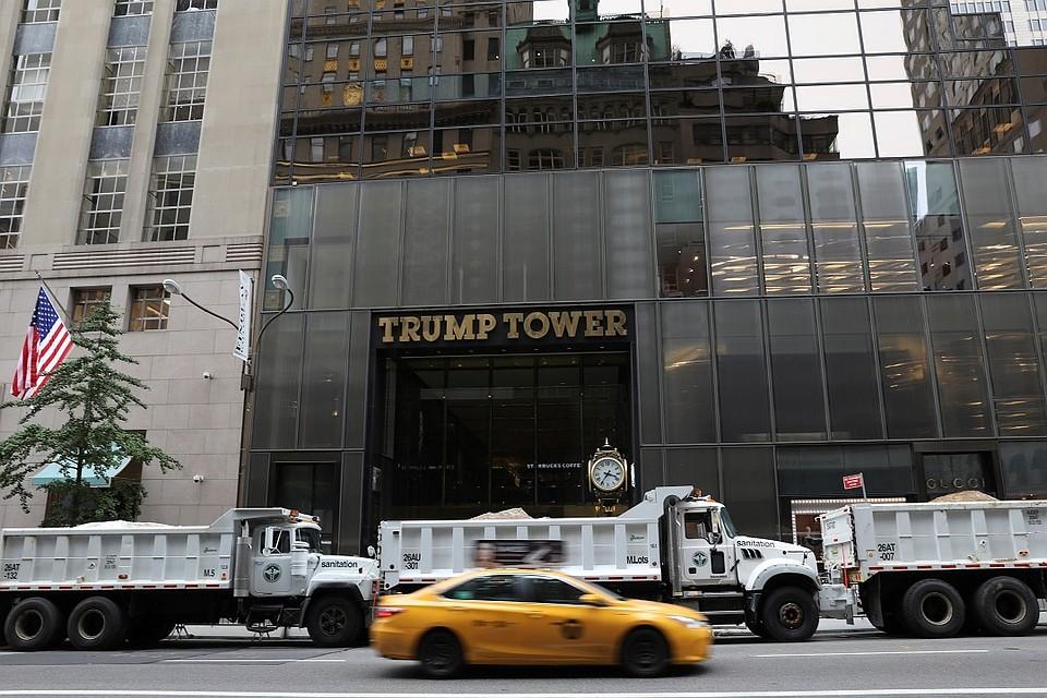 Компания Трампа разглядывала возможность возведения Trump Tower в столице