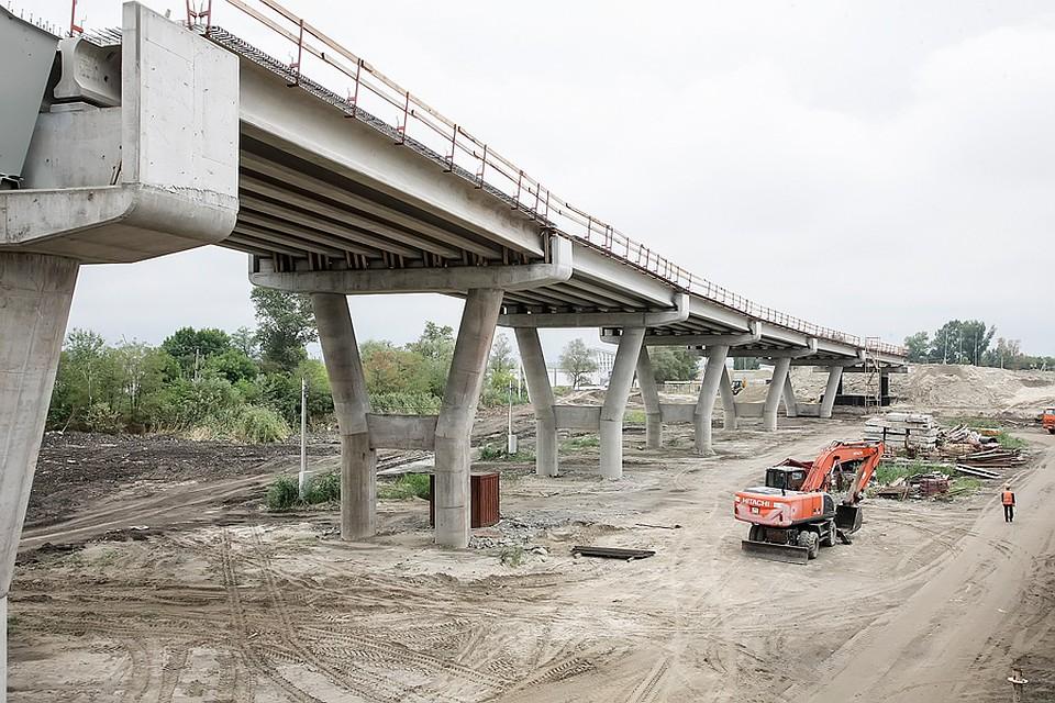 Движение попойменному мосту вРостове могут открыть уже вначале зимы