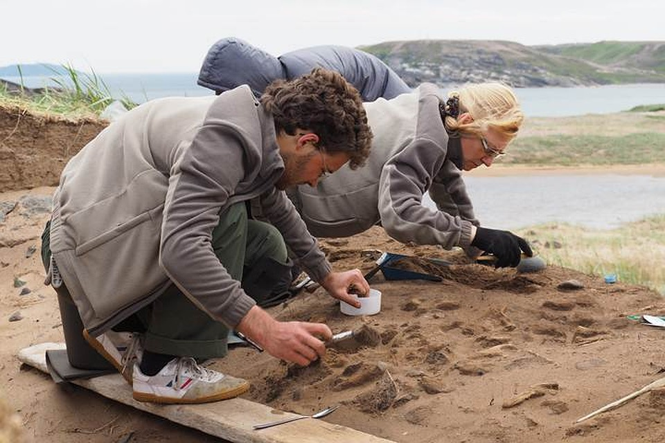 Археологи отыскали вМурманской области артефакты избалтийского янтаря
