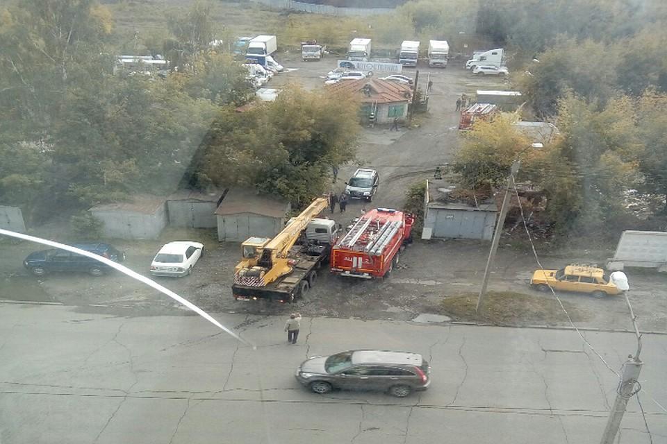 ВМЧС поведали о«взрыве» наподстанции Барнаула