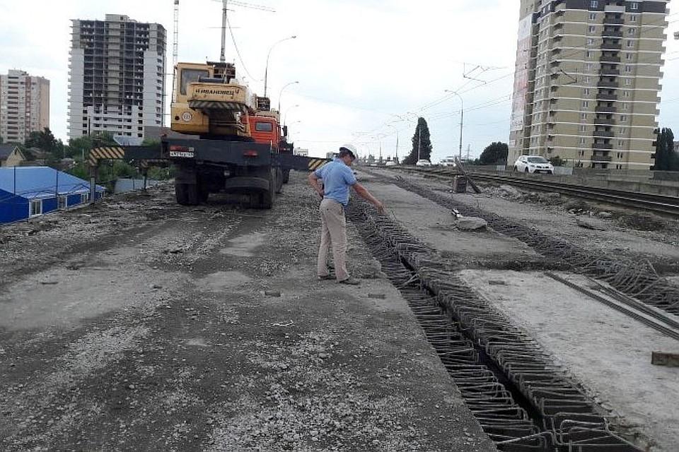 Движение наСадовом мосту Краснодара закрыто с11сентября