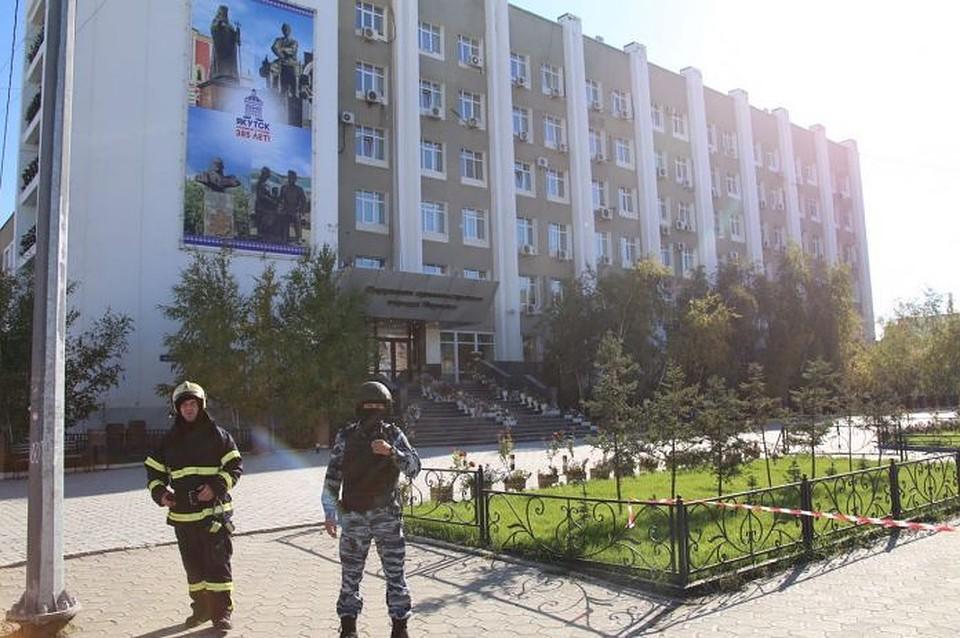 ВЯкутске эвакуировали аэропорт из-за звонка оминировании