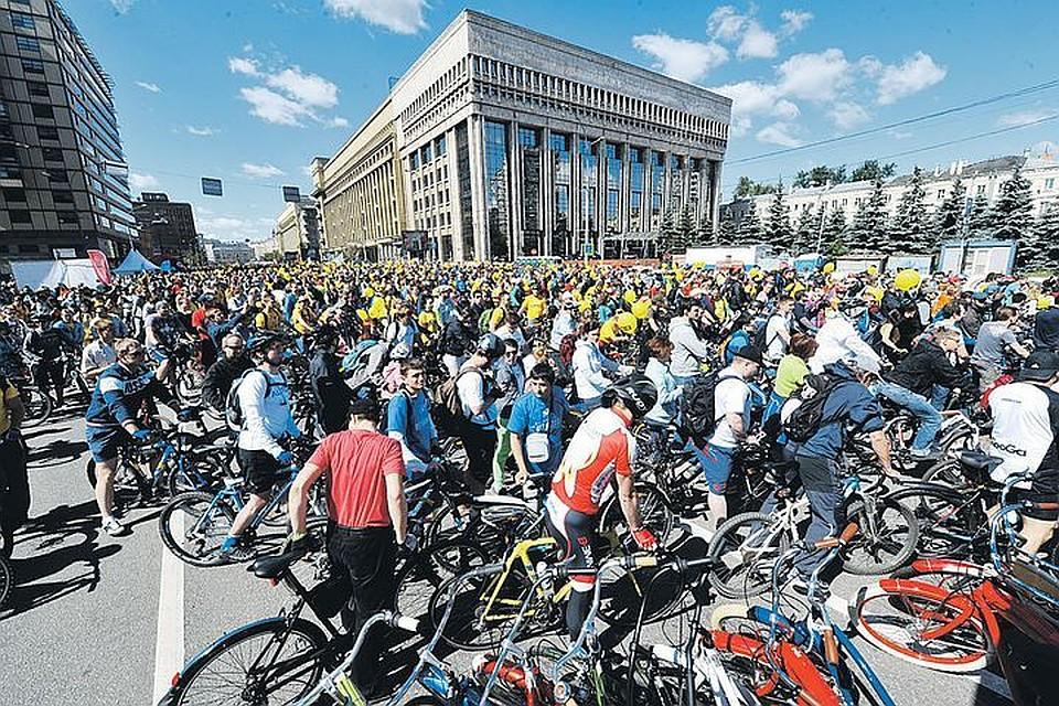 Московский велопарад внесет коррективы вдвижение транспорта встолице