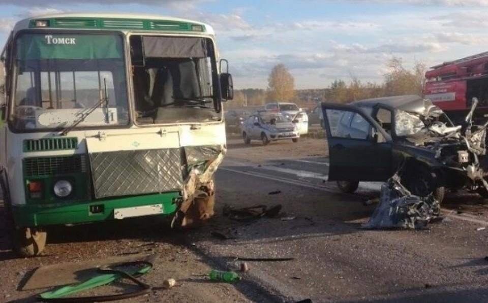 Смертельное ДТП случилось наКузовлевском тракте вТомске