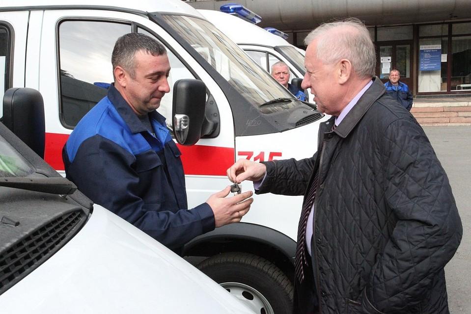 Парк автомобилей скорой помощи вЧелябинске обновится натреть
