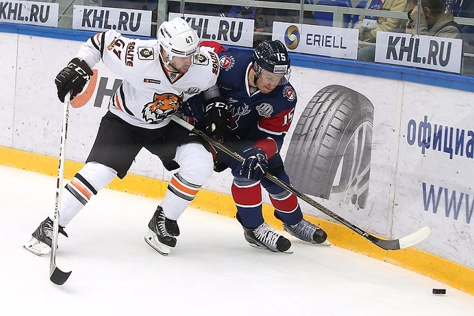 НижегородскийХК «Торпедо» одержал победу вдомашнем матче схабаровским «Амуром»