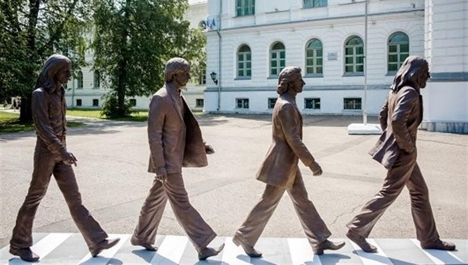 ВНовокузнецке установят монумент The Beatles