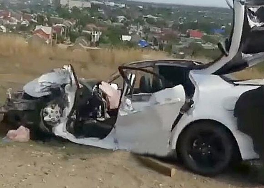 Встолкновении иномарки ифуры вКрымске умер шофёр
