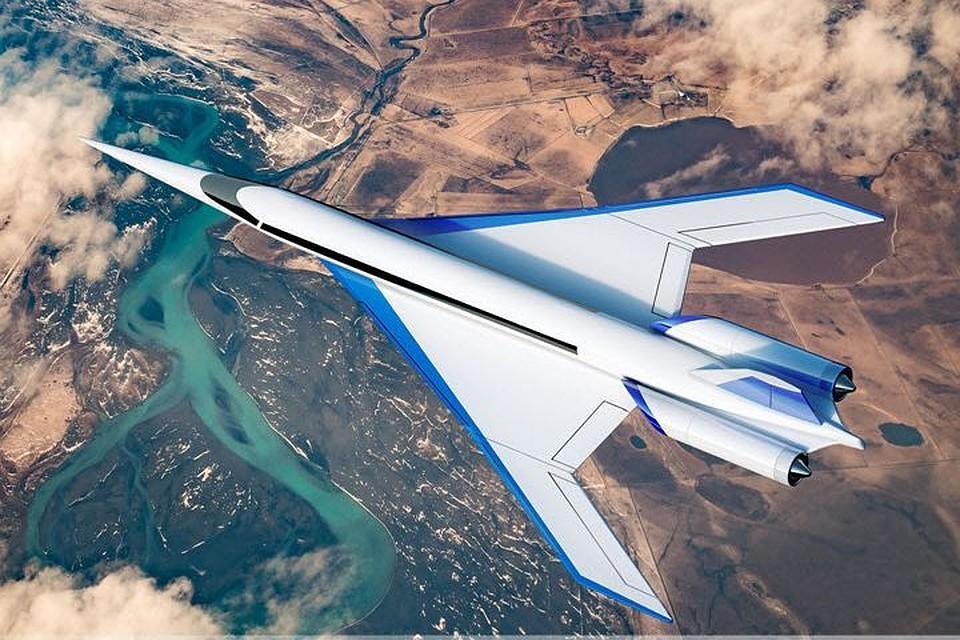 В США разрабатывают прототип нового сверхзвукового пассажирского лайнера