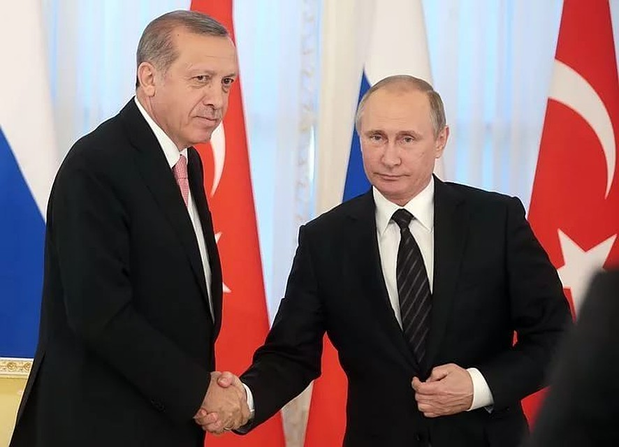 Состоялся телефонный разговор В. Путина иЭрдогана