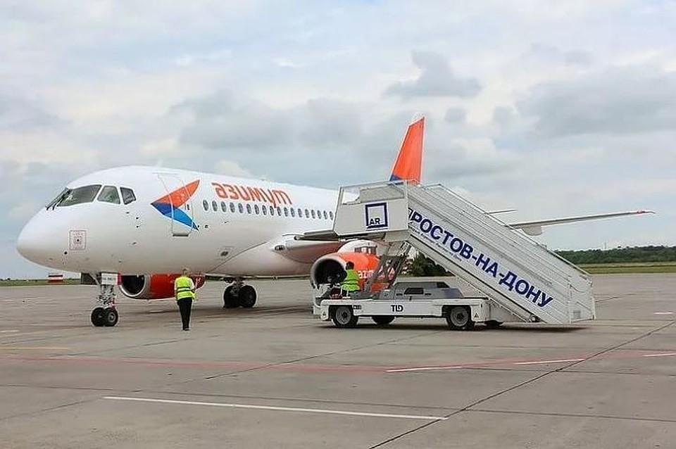 Авиакомпания «Азимут» откроет прямые рейсы изКраснодара иРостова вМахачкалу