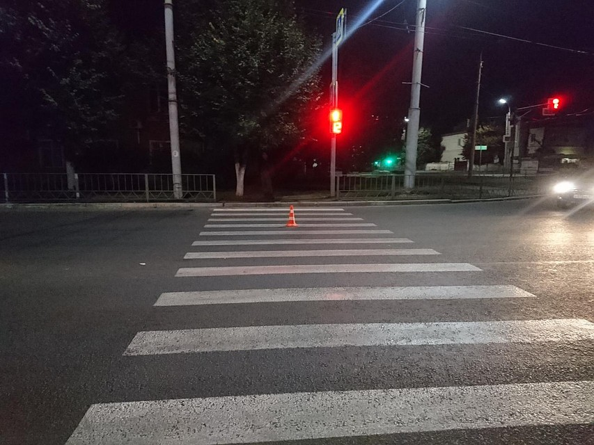 ВОрле шофёр сбил на«зебре» мужчину и исчез сместа ДТП