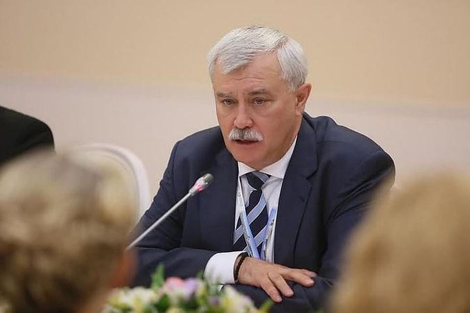 Полтавченко: Петербург будет центром управления арктической зоны РФ