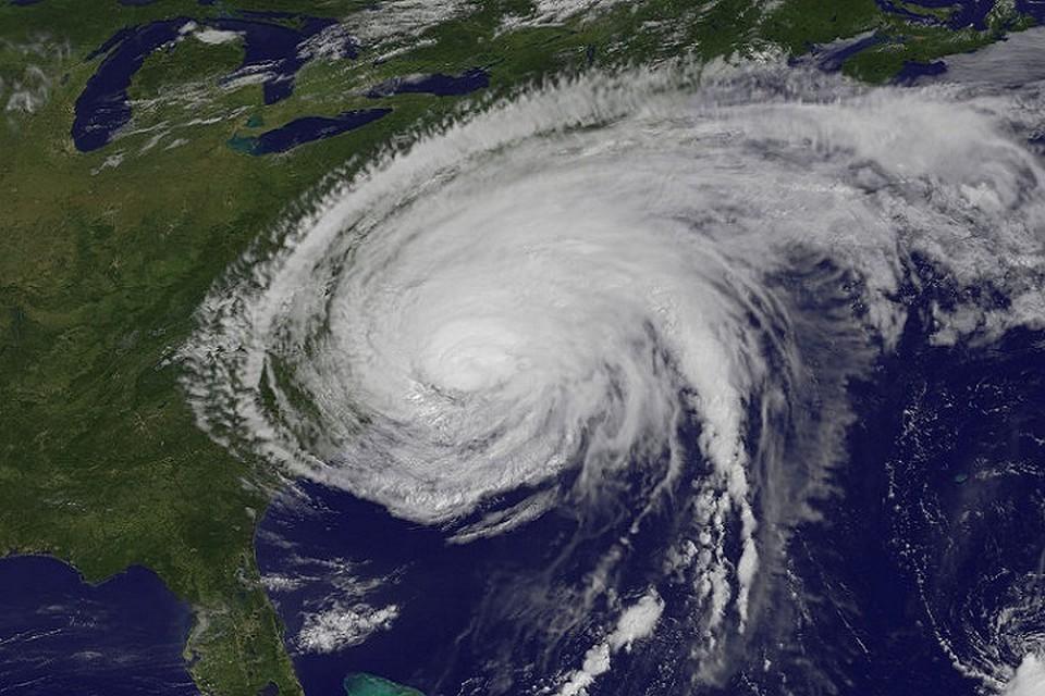 Тропический шторм «Ли» усилился доурагана