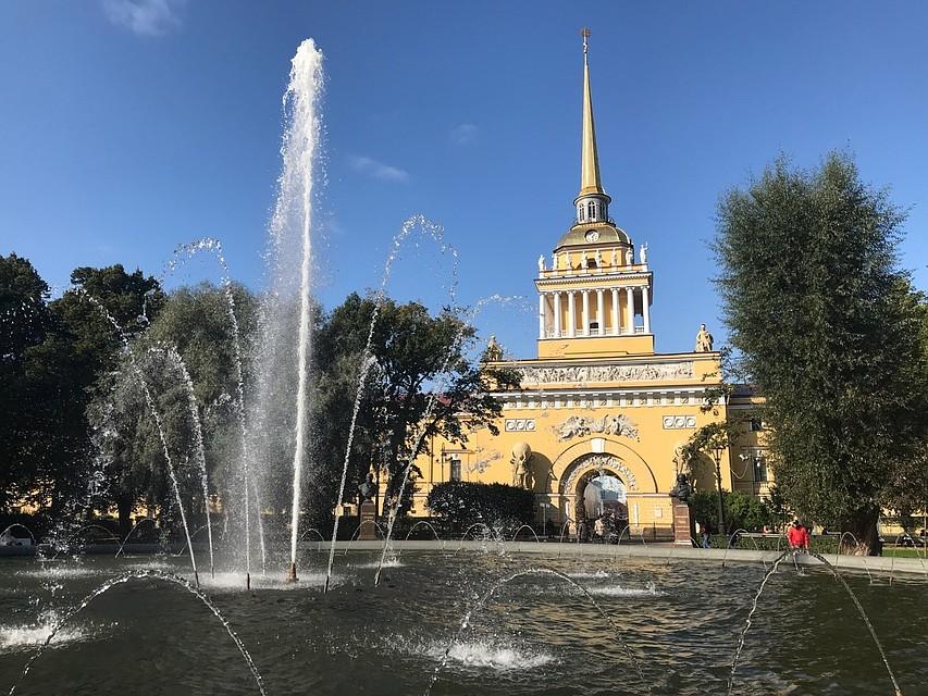 ВПетербурге с1октября начнется поэтапное отключение фонтанов