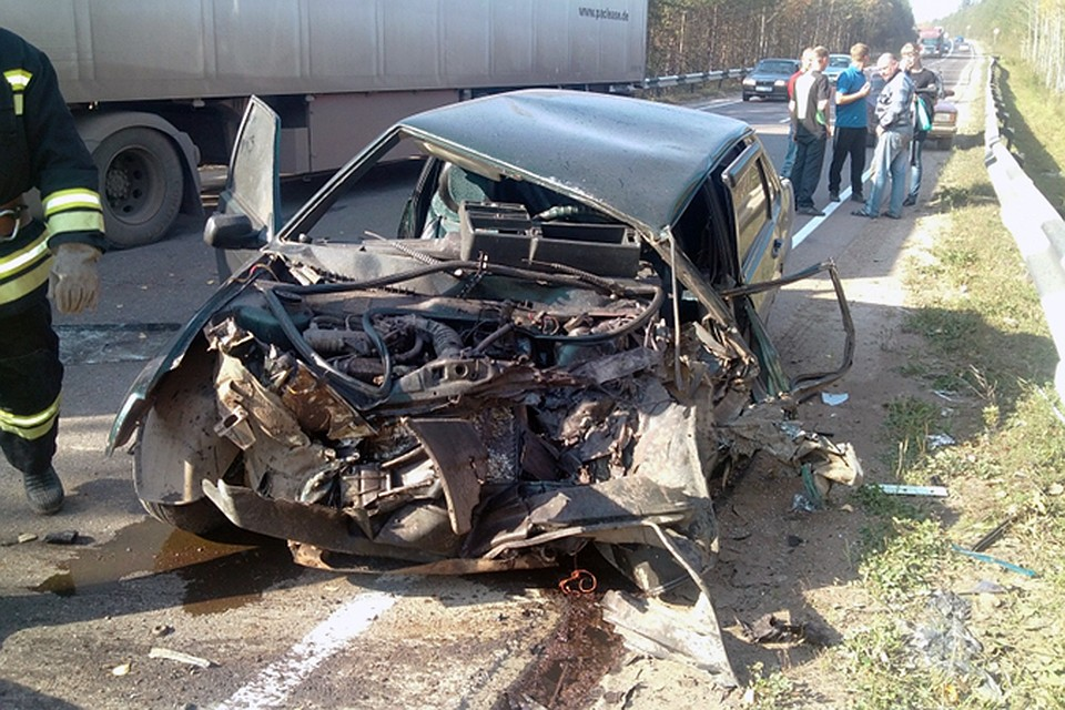 ВДТП под Кировом умер 1 человек, еще 8 пострадали