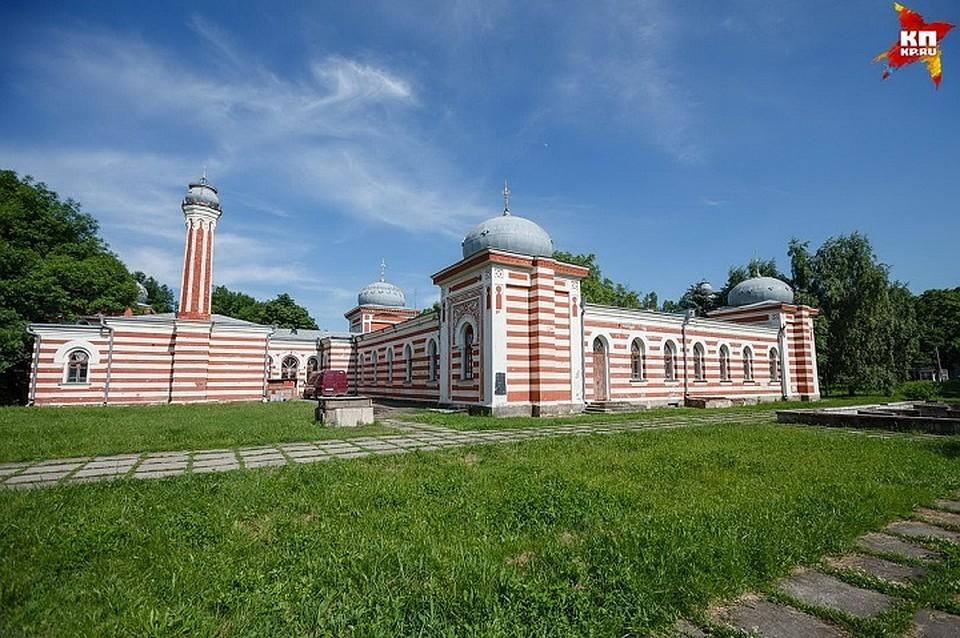 ВЖелезноводске начали реставрацию фасада Островских ванн