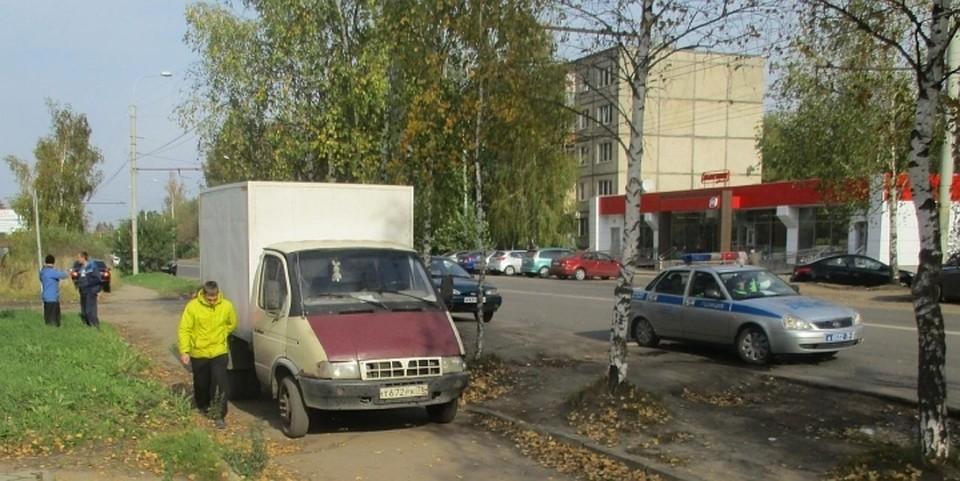 ВРыбинске шофёр «Газели» сбил пешехода