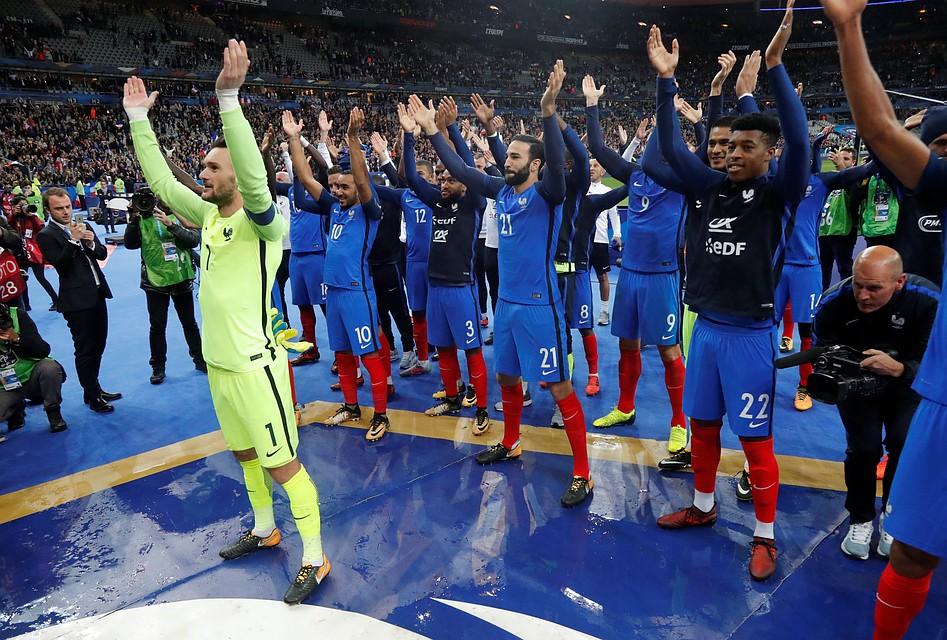 Франция завоевала путёвку наЧМ-2018, Голландия пропустит турнир