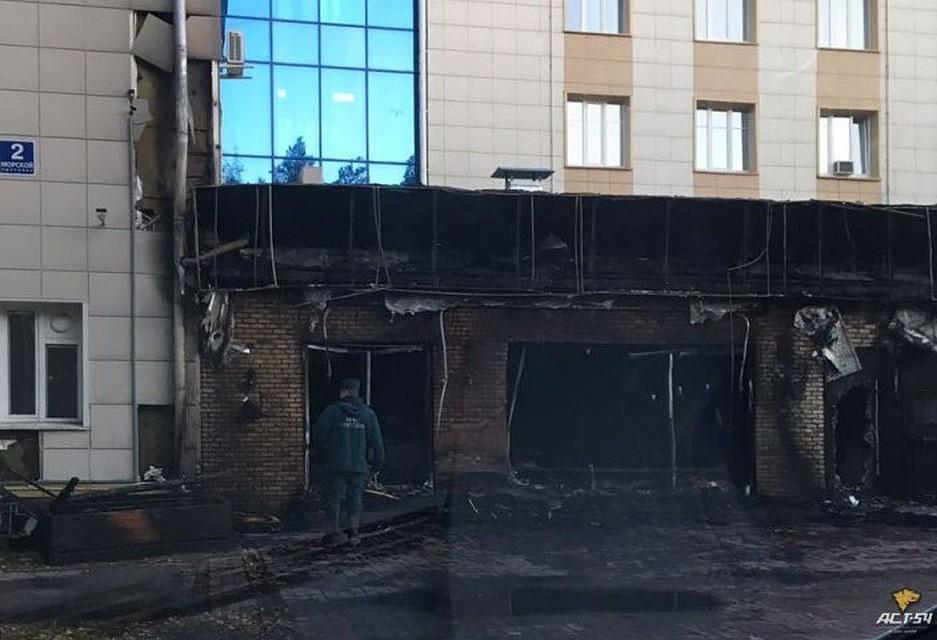 Пожар уничтожил кофейню «Академия кофе» вАкадемгородке Новосибирска