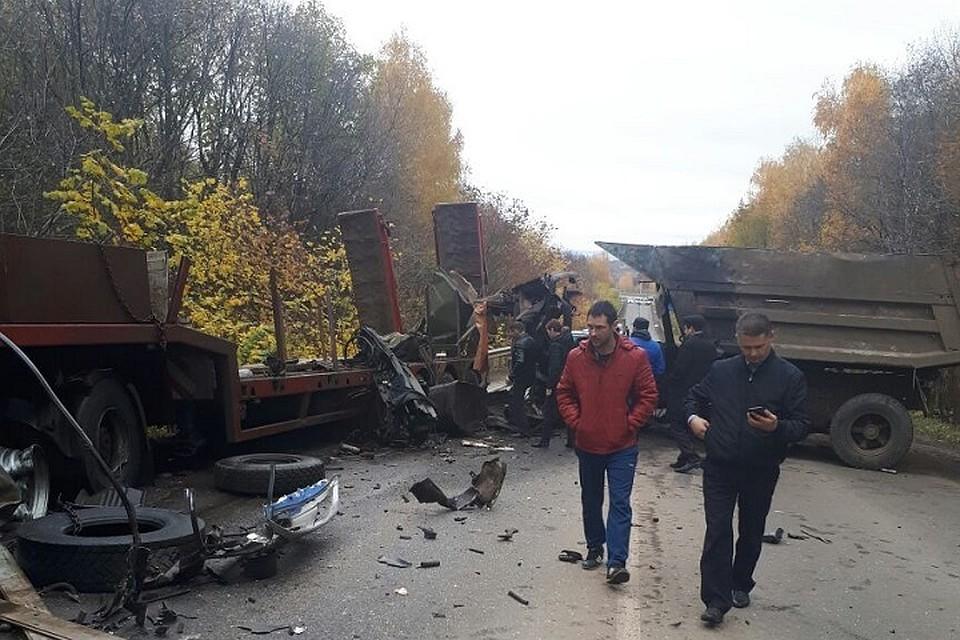 Смертельное ДТП вАльметьевском районе: столкнулись два фургона