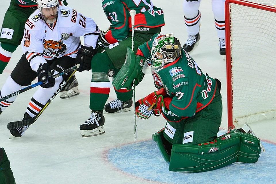 Хабаровский «Амур» уверенно обыграл казанскиий «АкБарс»