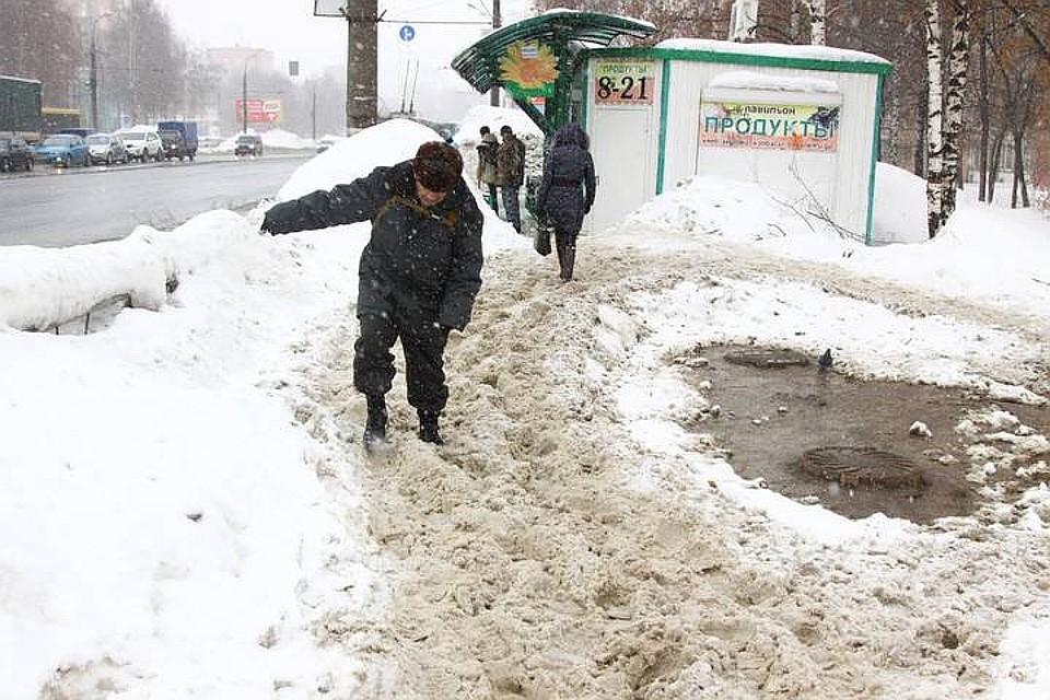 Ижевск потратит науборку снега 150 млн руб.