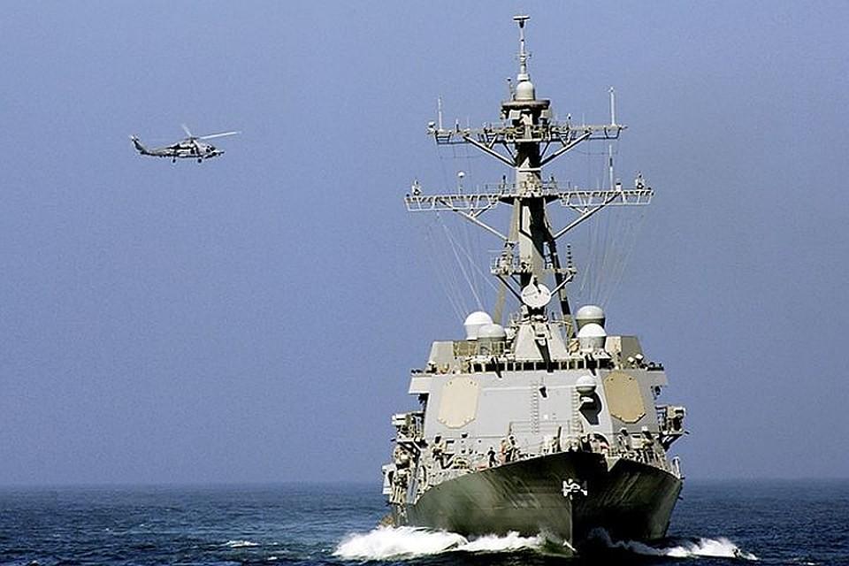 ВМС Южной Кореи, Австралии иСША начали общие учения