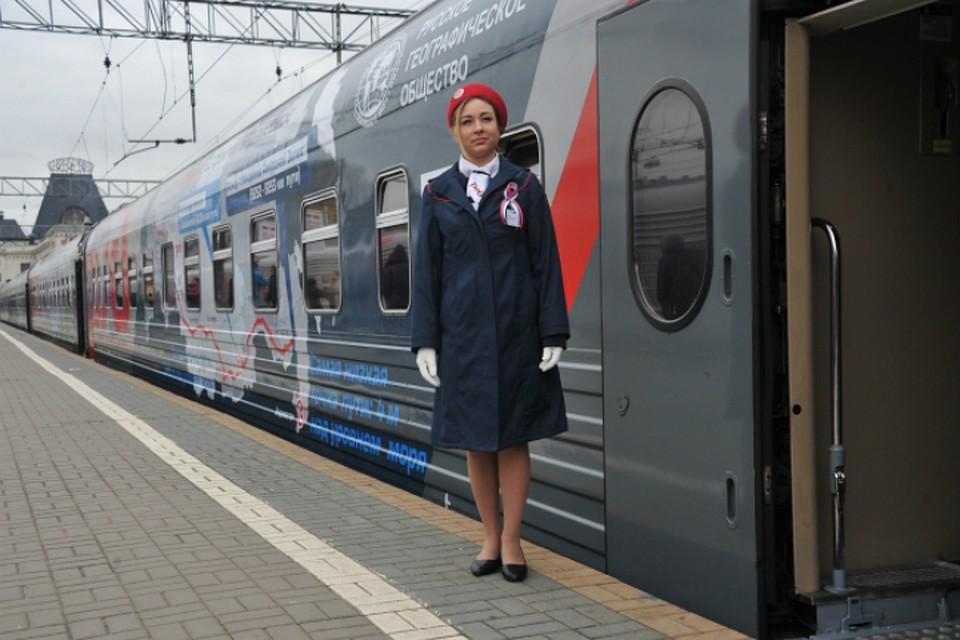 Дополнительный поезд пустят между Владивостоком иХабаровском