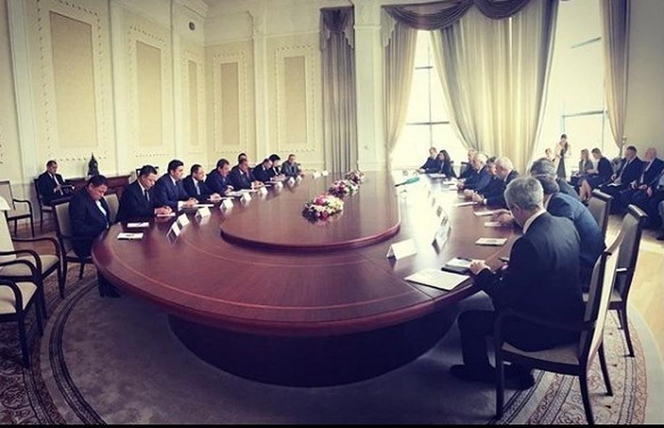 Петербург и Узбекистан расширят сотрудничество