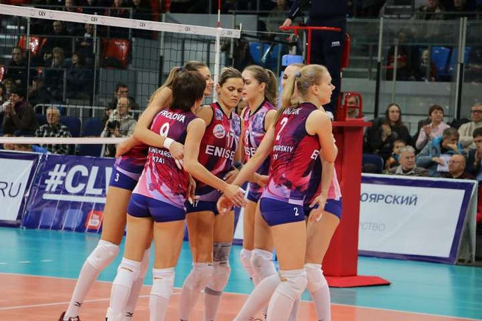 Волейболистки «Енисея» несмогли выйти вгрупповой этап ЛЧ, проиграв «Марице»