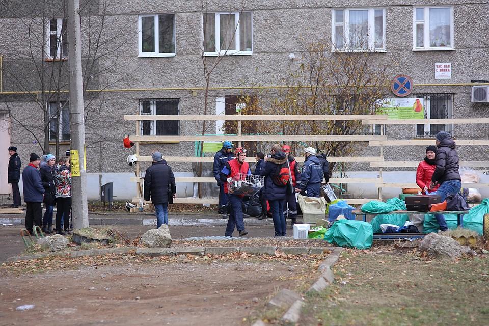 Квартиры 3-х подъездов частично обрушившегося дома вИжевске готовы квозвращению жильцов