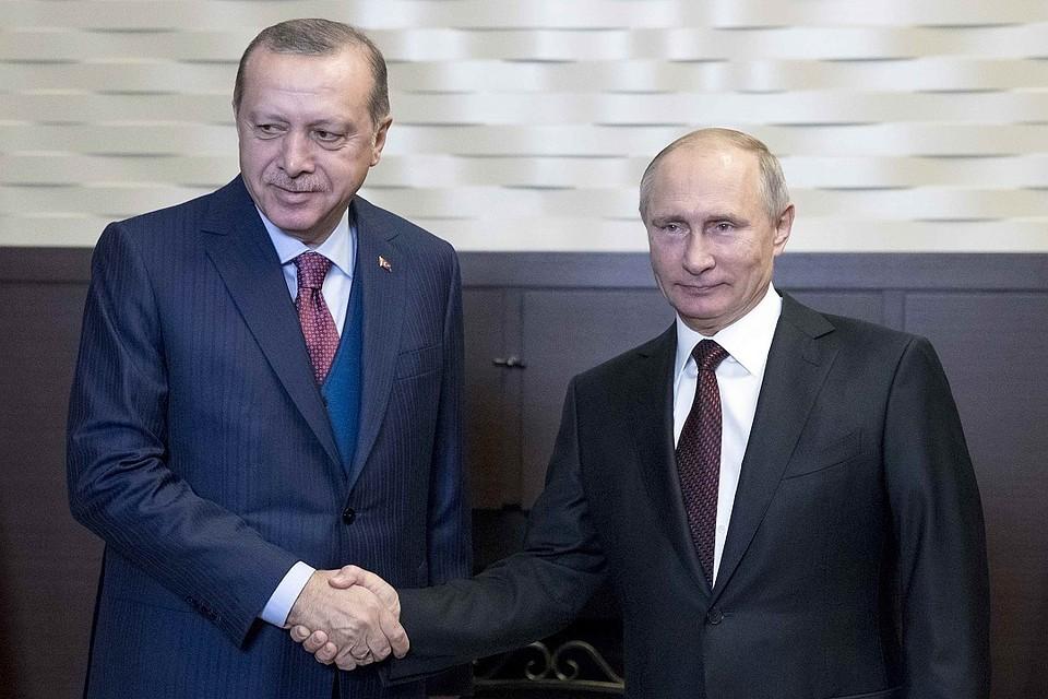 Как прошли переговоры В. Путина  иЭрдогана— Новый импульс