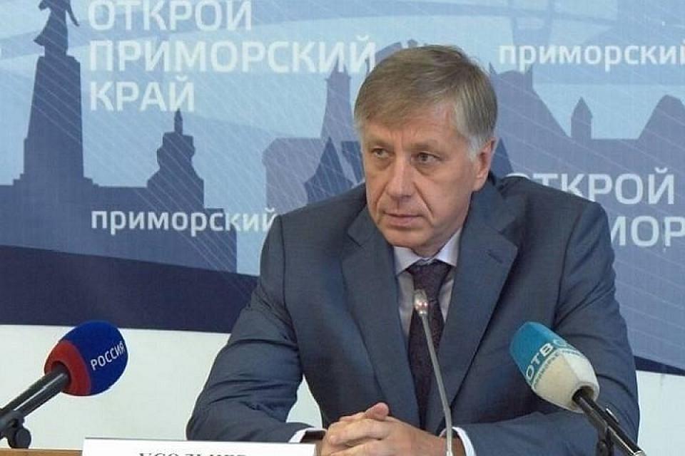 ВПриморье прошёл обыск у прежнего вице-губернатора