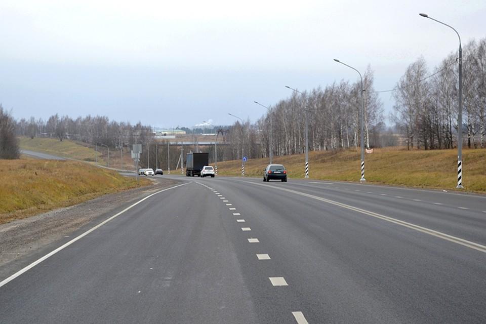 ВБрянской области отремонтировали 100 километров федеральных трасс