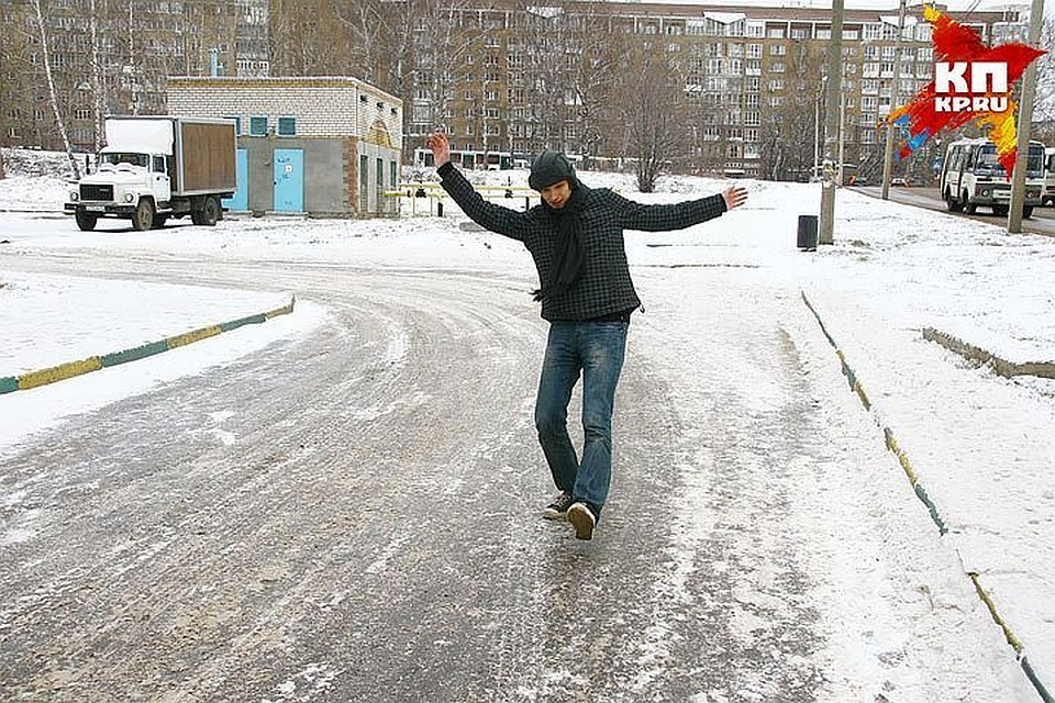 Засутки отгололеда вПетербурге пострадал 41 человек