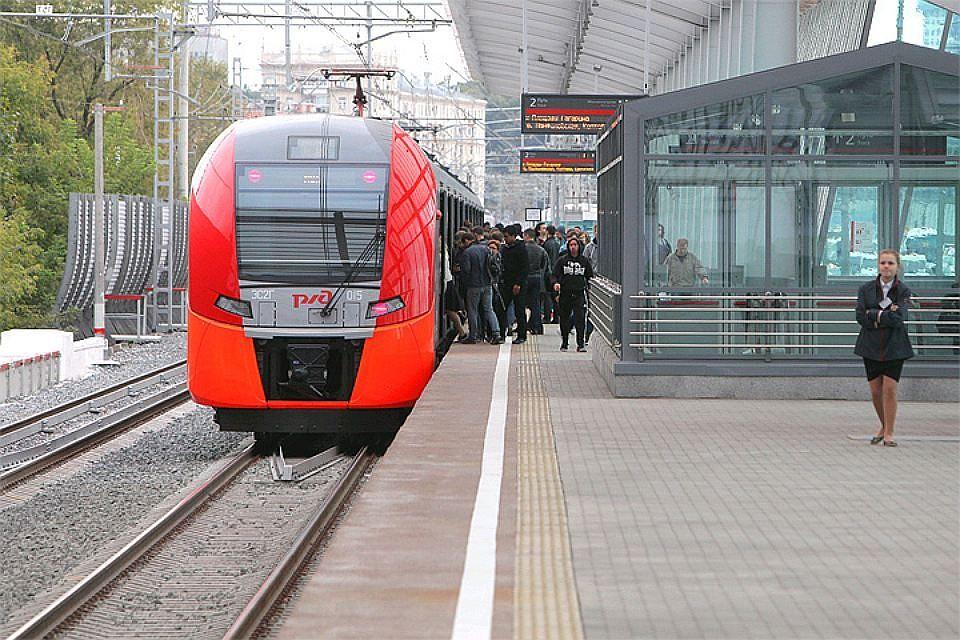 Сбой вдвижении поездов произошел наМосковском основном кольце