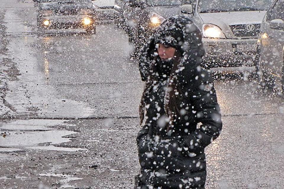 Снежное бедствие иабстрактные фигуры— Хабаровский край