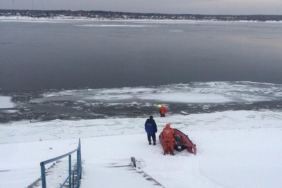 Нареке Кама откололась льдина спятью рыбаками, один изних спасен