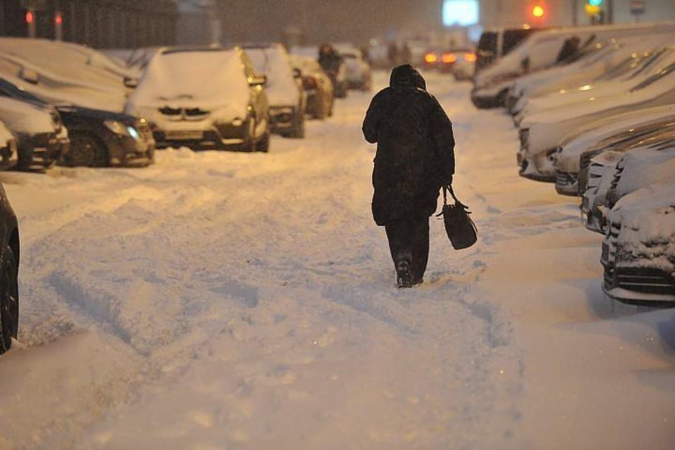 Столице России  грозит  ледяной дождь