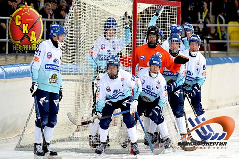 Чемпионы ивице-чемпионы похоккею смячом сразятся вХабаровске