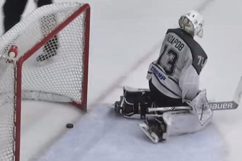 Хоккеисты «Бурана» «обстучали» штанги тюменского «Рубина», вновь проиграв дома 2:4