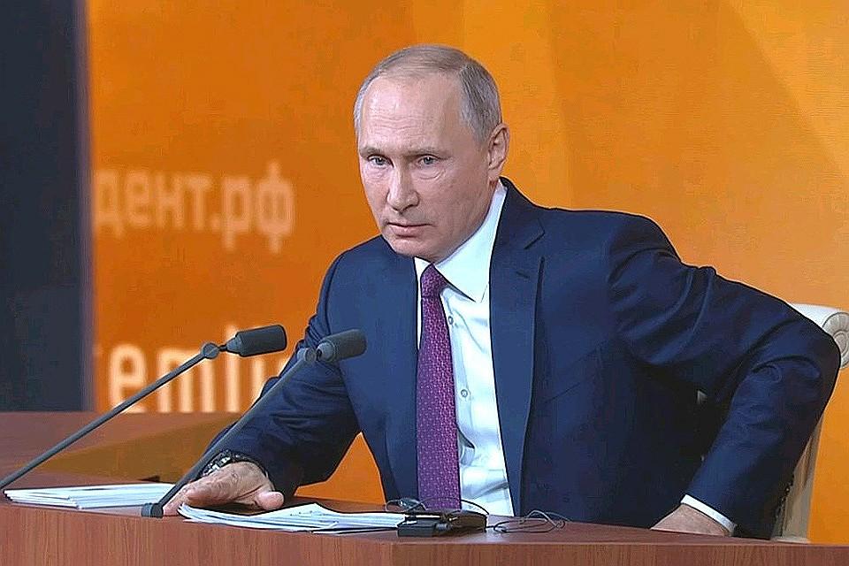 Майские указы выполняются удовлетворительно— Владимир Путин