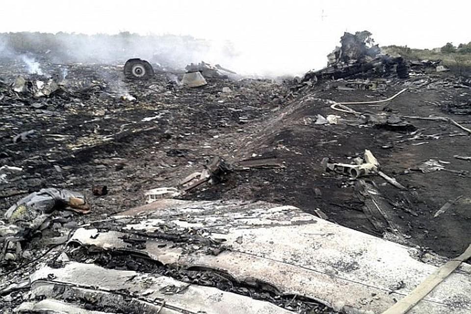 ДНР сообщила обобнаружении останков наместе крушения MH17