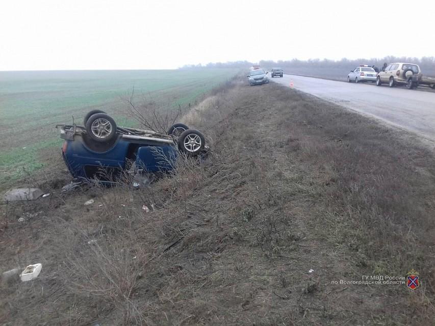 Наскользкой дороге вВолгограде разбились два водителя