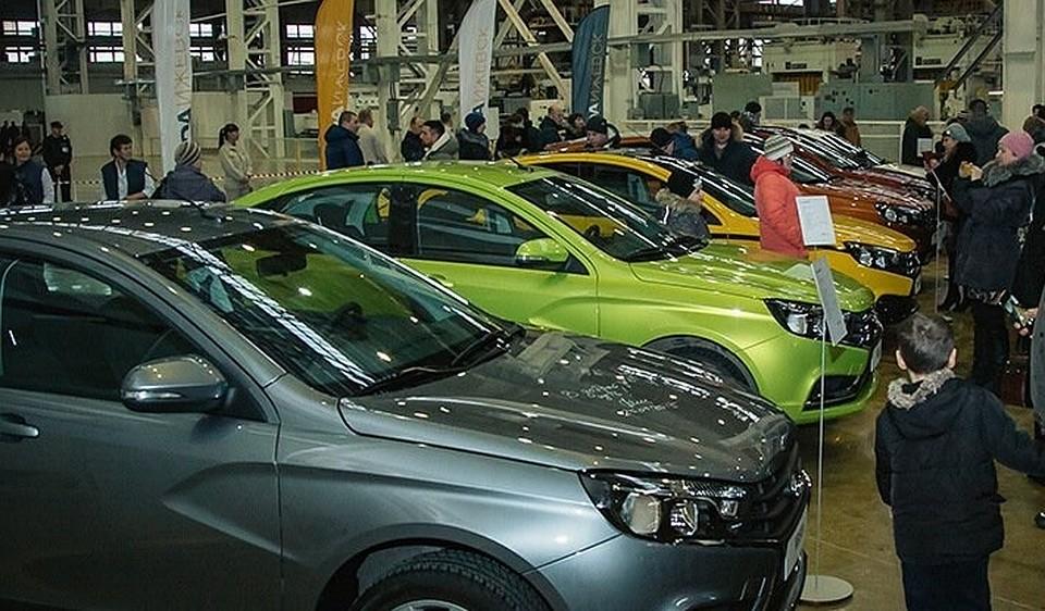 Порезультатам 2017 года Лада Ижевск выпустит неменее 100 000 авто