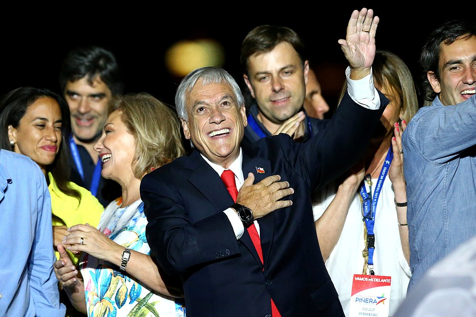 Миллиардер Себастьян Пиньера стал новым президентом Чили